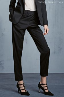 French Connection Sidewalk Twill Cuff Hem Trouser