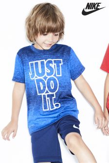 Nike Little Kids Game Royal Blue Heather Dri-FIT T-Shirt