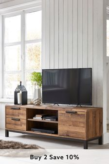 Living room furniture modern oak furniture sets next - Dresser as tv stand in living room ...