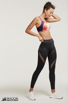 Shock Absorber Black Legging