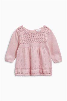 Knit Dress (0mths-2yrs)