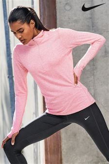 Nike Pink Dry Element Running Top