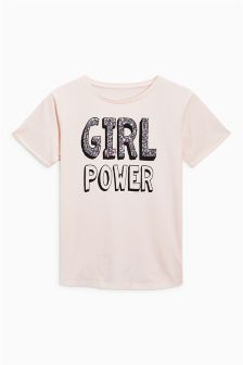 Girl Power T-Shirt (3-16yrs)