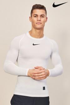 Nike Pro Black Long Sleeved Top