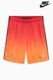 Nike Orange CR7 Squad Football Short