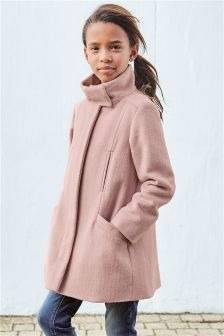 Funnel Neck Coat (3-16yrs)