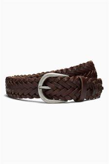 Casual Weave Belt
