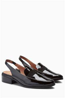 Slingback Loafers