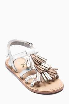 Tassel Sandals (Older Girls)