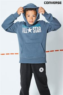Converse Grey All Star Overhead Hoody