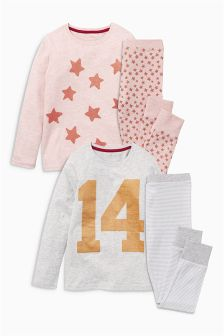 Star Pyjamas Two Pack (3-16yrs)
