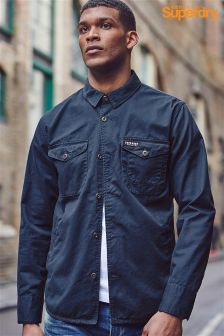 Superdry Navy Overshirt