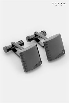 Ted Baker Snickle Corner Crystal Cufflinks