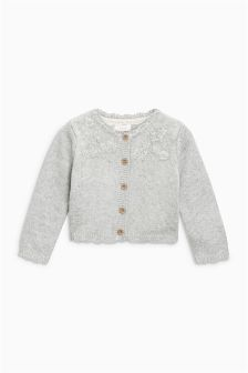 Embroidered Cardigan (3mths-6yrs)