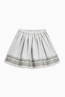 Embroidered Full Skirt (3mths-6yrs)