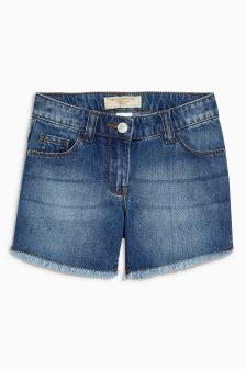 Longer Length Denim Shorts (3-16yrs)