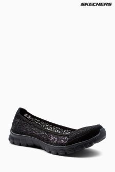 Skechers® Black Ez Flex 3.0 Majesty Pump