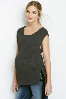 Maternity Stitch Detail Sweater