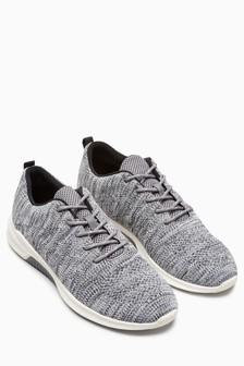Textured Knit Trainer