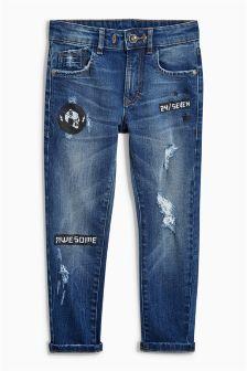 Printed Skinny Jeans (3-16yrs)