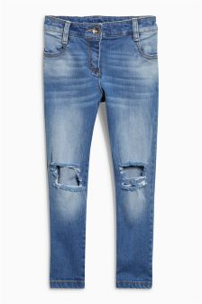 Distressed Ripped Skinny Jeans (3-16yrs)