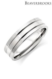 Beaverbrooks Men's Titanium Ring