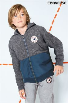 Converse Grey Colourblock Hoody