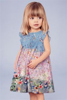 Pleated Occasion Dress (3mths-6yrs)