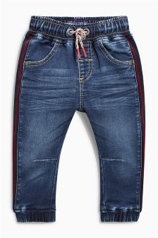 Jersey Side Stripe Jeans (3mths-6yrs)