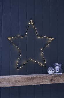 Large Light Up Wall Star
