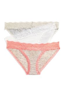 Cotton Mini Briefs Three Pack