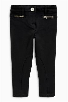 Zip Ponte Trousers (3-16yrs)