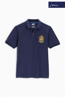 Joules Navy Kingsfield Polo Top