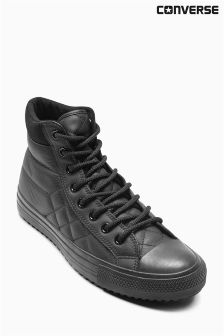 Converse Black Quilt Leather Boot