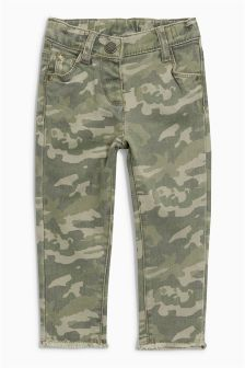 Camo Skinny Jeans (3mths-6yrs)