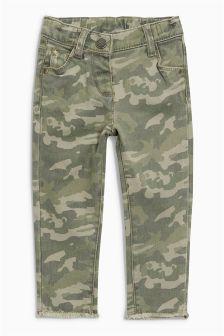 Camo Skinny Jeans (3mths-6yrs)