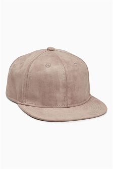 Faux Suede Cap (Older Boys)