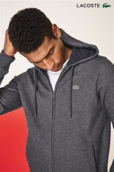 Lacoste® Grey Zip Through Hoody