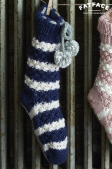 Fat Face Knit Bed Socks