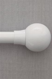 Gloss Ball Curtain Pole