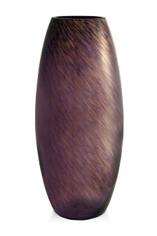 Glass Glitter Vase