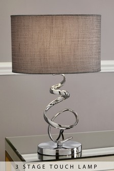 Mini Ribbon Touch Table Lamp