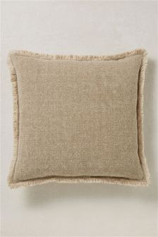 Frayed Edge Distressed Cushion