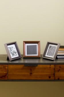 Set of 3 Mixed Metallic Frames