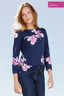 Joules Navy Harbour Top