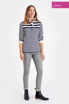 Joules Cowdray Navy Funnel Neck Sweat