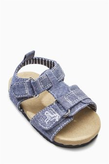 Pram Corkbed Sandals (Younger Boys)