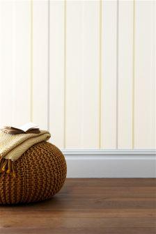 Ochre Multi Stripe Wallpaper