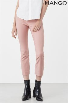 Mango Pink Tailored Trouser