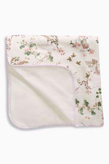Floral Fleece Blanket (Newborn)